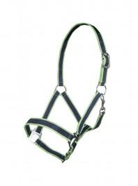 Недоуздок для коня НКМ з 100% поліпропілену та міцними сталевими пряжками Фото