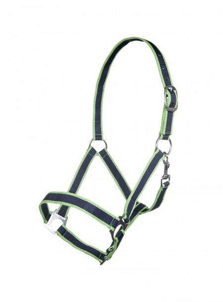 Недоуздок для лошади НКМ из 100% полипропилена и прочными стальными пряжками Фото