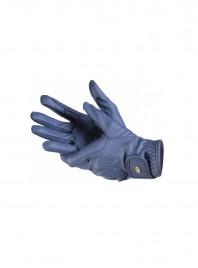 Зручні рукавички для вершника LAG темно сині Фото