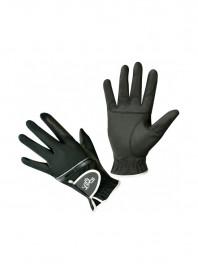 Недорогі рукавички для вершника LAG чорного кольору Фото