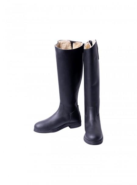 Якісні чоботи для вершників від бренду QHP з натуральної шкіри Фото