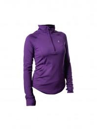 Фиолетовая рубашка женская техническая Andie 34 размера Фото