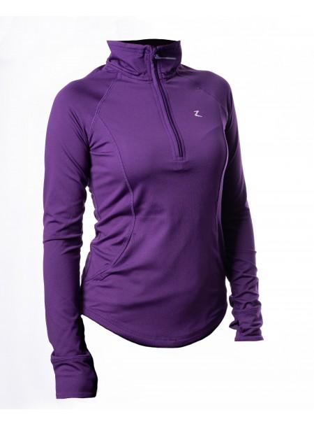 Фіолетова сорочка жіноча технічна Andie 34 розміру Фото