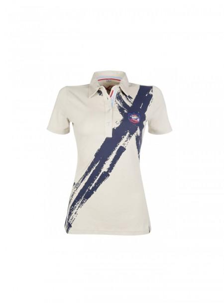 Елітна футболка County для вершників з бавовни та спандексу Фото
