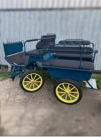 Гужовий шестимісний фаетон МС7 для комфортних поїздок Фото