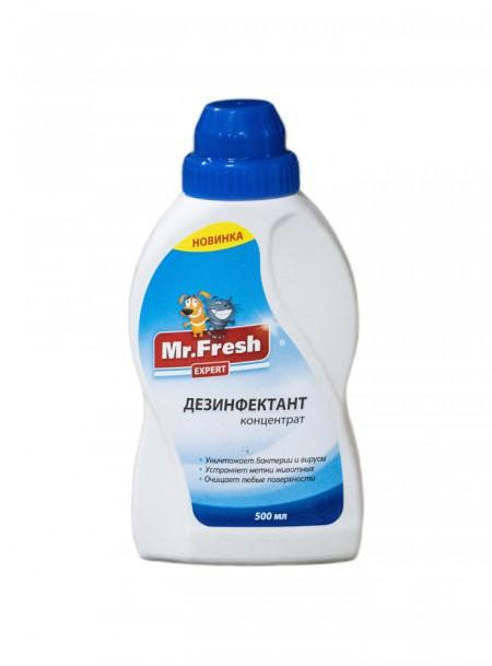 Дезінфікуючий засіб для дезодорації місць утримання і відвідування домашніми улюбленцями від ТМ Mr.Fresh Фото