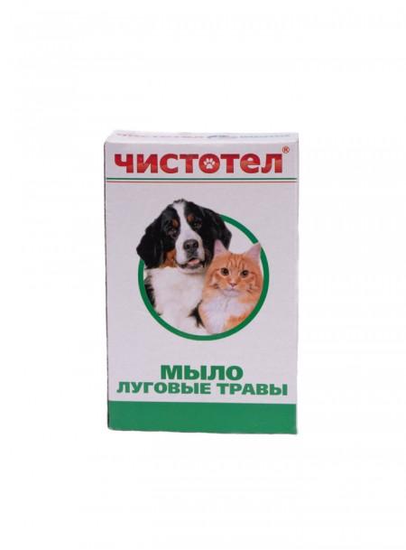 Мило Чистотіл універсальне 80 гр. з ароматом лугових трав Фото