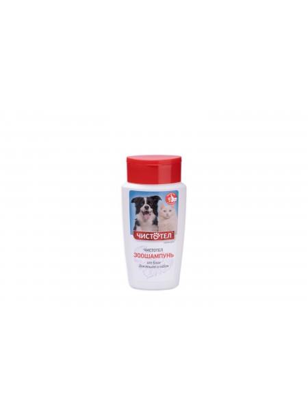 Ветеринарний шампунь Чистотіл антипаразитний, універсальний в пляшках об'ємом 180 мл. Фото