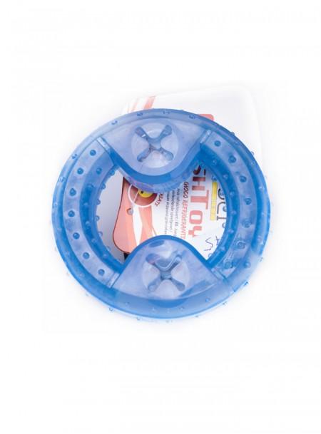 Блакитне ігрове кільце для домашніх тварин з охолодженням CROCI FRESH Фото