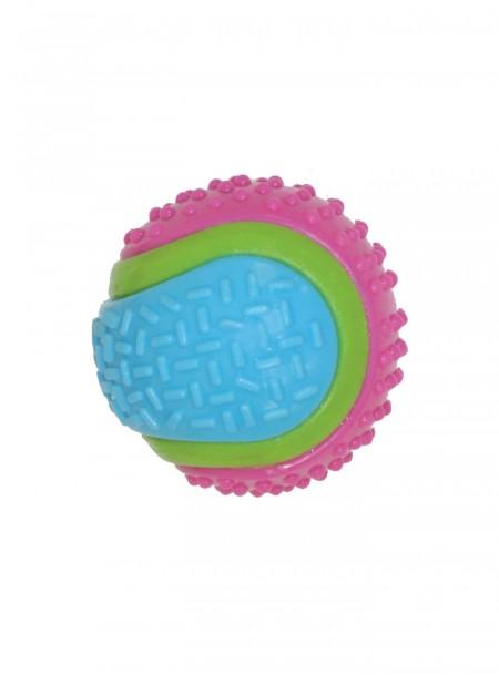 Кольоровий тенісний м'ячик для домашніх тварин, серія SPIKY від компанії CROCI Фото