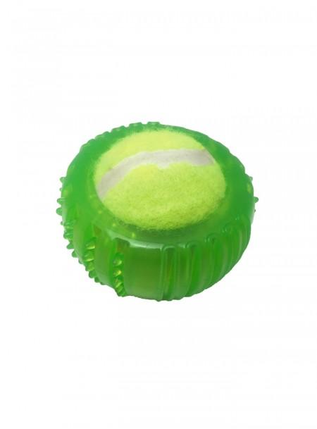 Гумовий тенісний м'ячик для гри та розвитку домашніх тварин від фірми CROCI Фото