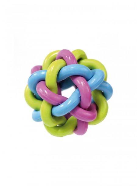Кручена іграшка у вигляді м'ячика для домашніх тварин з безпечної гуми від бренду CROCI Фото