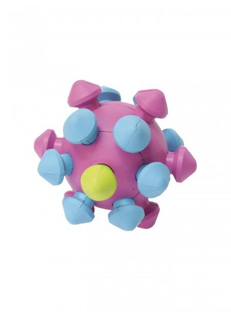 Весела іграшка для домашніх тварин литий м'яч – міна CROCI з якісної гуми Фото