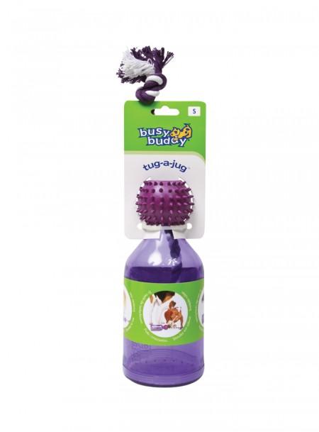 Універсальна іграшка для домашніх тварин у вигляді пляшки під корм PETSAFE 11 см. Фото