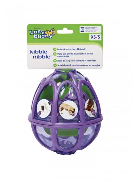 Міцна гумова іграшка для домашніх тварин у вигляді кулі під корм PETSAFE 10,6 см. Фото