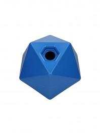 Пластиковий іграшковий м'яч для коней з відсіком для корму та сіна Elico, діаметр 25 см. Фото