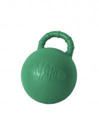 Зелений гумовий м'яч для гри з конем Horze окружністю 81 см Фото