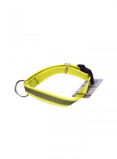Нейлоновий нашийник для собак HIKING ANTISHOCK з регульованою довжиною 48-66 см від ТМ CROCI Фото