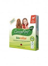 Біонашийник для домашніх тварин GreenFort 65 см. з активним захистом проти кліщів та бліх до 90 днів Фото