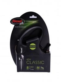 Рулетка FLEXI Classic M чорна