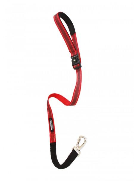 Повідець для собак з нейлону HIKING ANTISHOCK, регульований 2*120 см. Фото