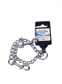 Надежный поводок для собак от ТМ CROCI с крепким цепочкой и двойными карабинами, размер 40 * 2,5 см. Фото