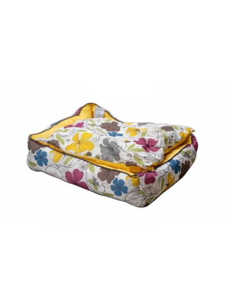 Зручне ліжко для домашніх улюбленців COZY FLO 70*60*20 см. Фото