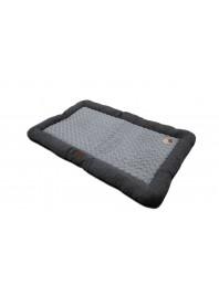 Комфортна підстилка лежак для собак, котів або домашніх поросят QHP з поліестерових тканин та флісу Фото