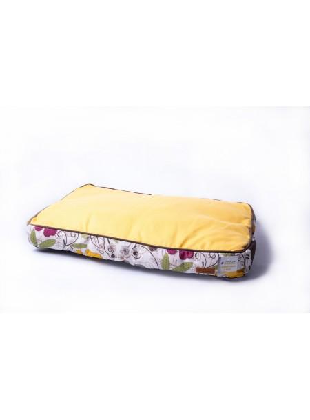 Комфортна подушка для собак або котів COZY FLO 75*52*10 см. в помаранчевому кольорі Фото
