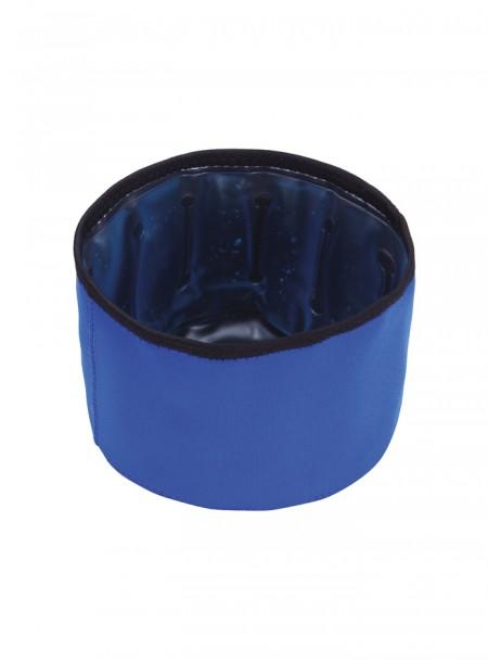 Універсальна миска для води та їжі хатніх тварин з охолоджуючим гелем, об'єм 1,3 л. Фото