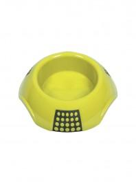 Салатова пластикова миска для котів, собак та мініпігів LUNA L об'ємом 1 л. Фото