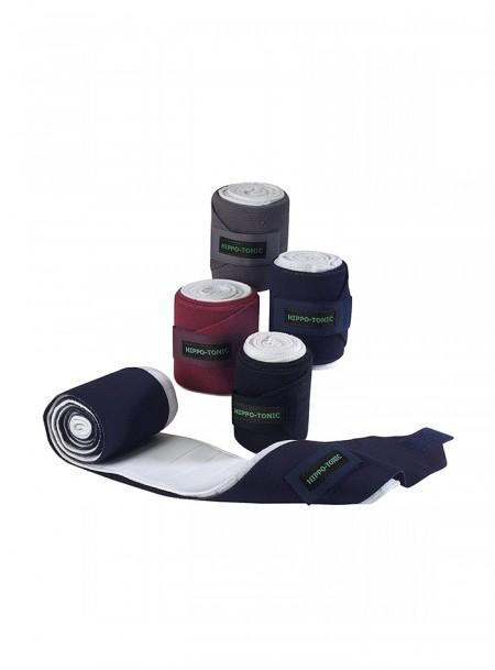 Махрові бинти-бандажі для ніг скакуна HIPPOTONIC в комплекті 4 шт Фото