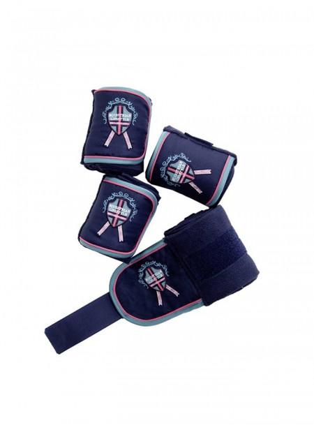 Якісні бинти-бандажі 4 шт HKM Exclusive з 100% поліестеру Фото