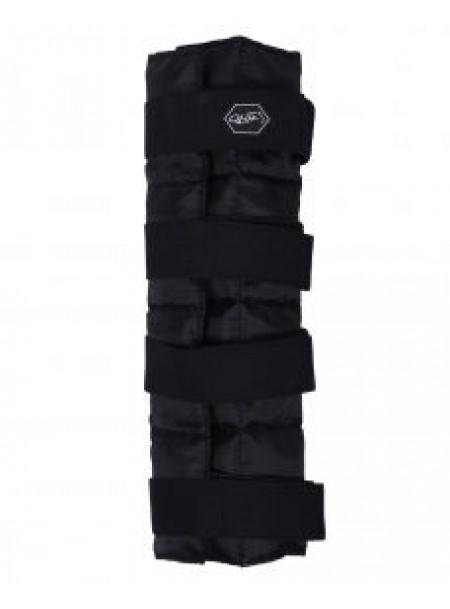 Універсальний бандаж для захисту ніг коня з кишенею та охолоджуючими пакунками від бренду QHP Фото