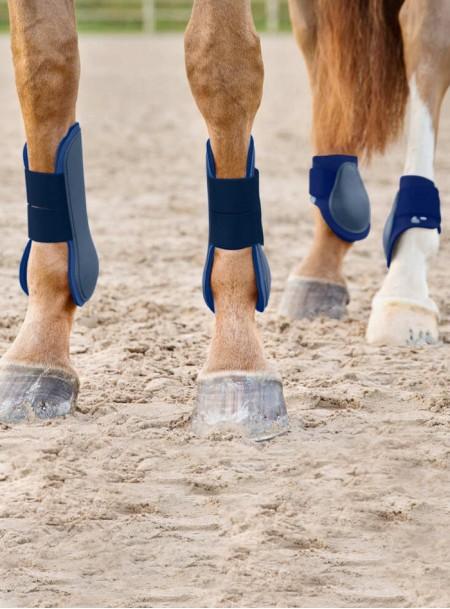Універсальні ногавки для ніг коня Tendon в темно-синьому забарвленні від ТМ Horze Фото