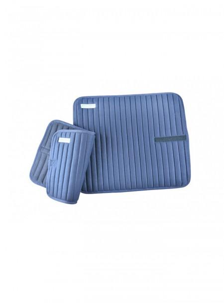 Оригінальні підкладки під ногавки для коня Hippotonic в наборі з 4 шт,  в темно-синьому кольорі Фото