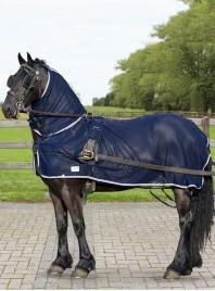 Попона для захисту коня від комах та шкідників QHP Фото