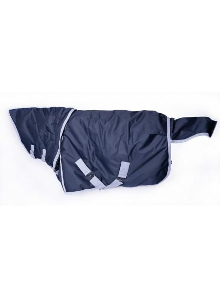 Попона для захисту скакуна від дощу з регульованою шиєю ТМ Minihorse від 80 до 100 см Фото