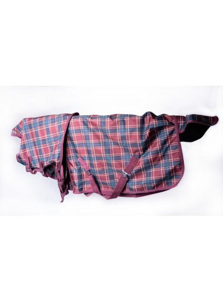 Попона для захисту коня від дощу з регульованим коміром на шию Minihorse від 69 до 85 см Фото