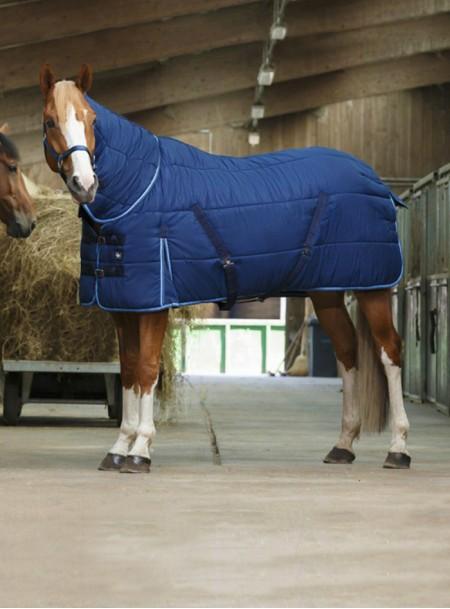 Зимова попона з шиєю для коня RIDING WORLD з якісних матеріалів Фото