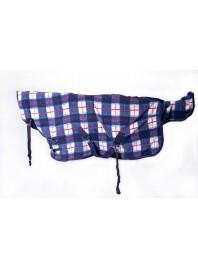 Попона зимова флісова з шлеєю Minihorse від 80 до 100 см з хромовими пряжками Фото