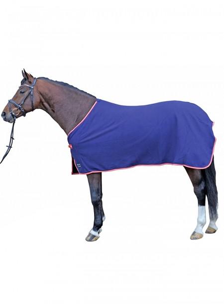 Попона зимова флісова для коня НКМ Alaska EU155 з 100% поліестеру та стальними пряжками Фото
