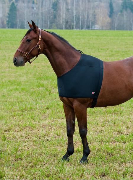 Попона для плечей коня Horze ComForce в M-розмірі з 100% лайкри Фото