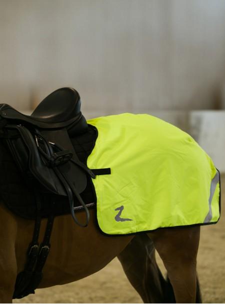 Світловідбиваюча попона Horze на задню частину невеликого коня або поні за помірною ціною Фото