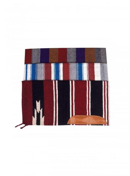 Бавовняний килимок на спину коня від бренду Navajo розміром 76*76 см. Фото
