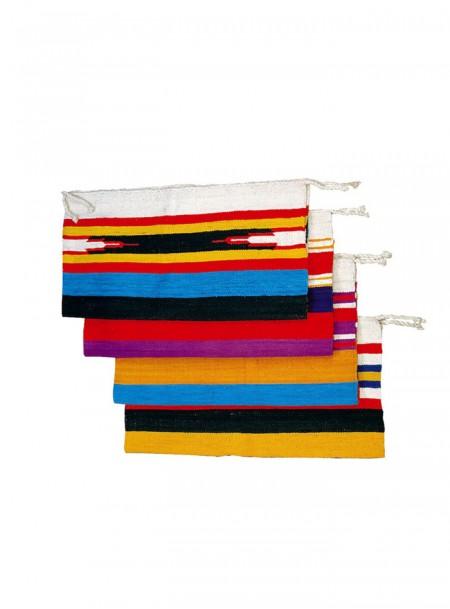 Оригінальний бавовняний килимок під сідло скакуна від компанії Navajo розміром 76*152 см. Фото