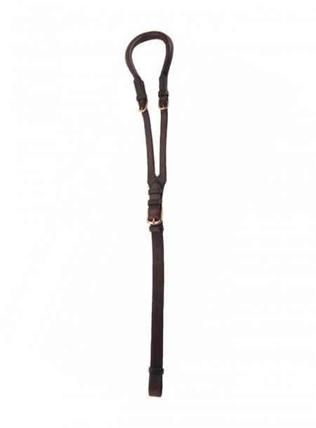 Оригінальний підхвістний ремінь для скакуна ERIC THOMAS з 100% натуральної шкіри< Фото