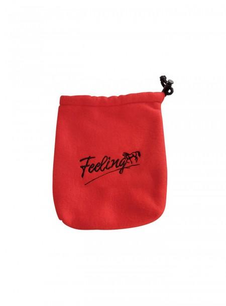 М'яка сумочка для стремян FEELING в червоному кольорі Фото