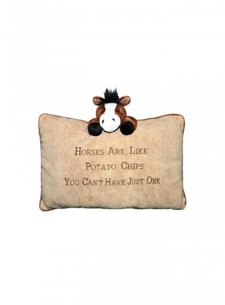 Декоративна подушка «Поні» з 100% поліестеру від компанії НКМ Фото