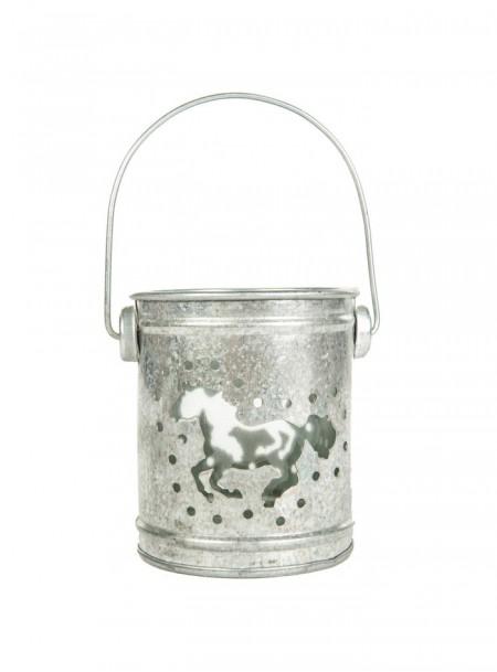 Вуличний свічник «Кінь» з 100% алюмінію від ТМ НКМ Фото